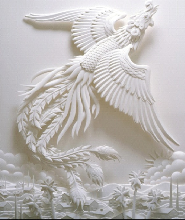 Dragon Tails-Most Amazing Paper Sculptures