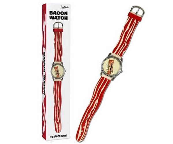 It's half past cooking time-Craziest Products Inspired By Bacon