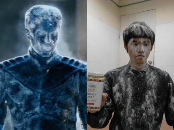 Just add flour-12 Cheap Yet Funny Cosplays Ever