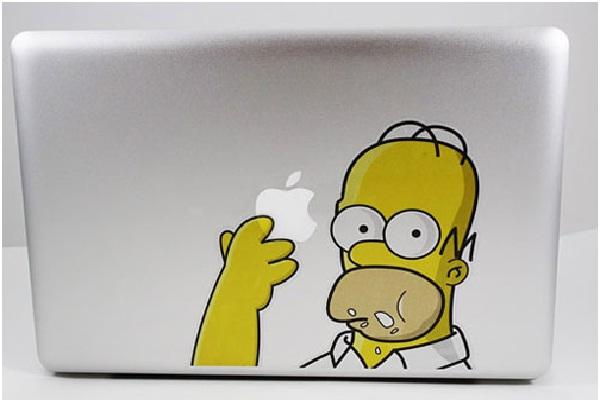 Homer-Funny MacBook Stickers