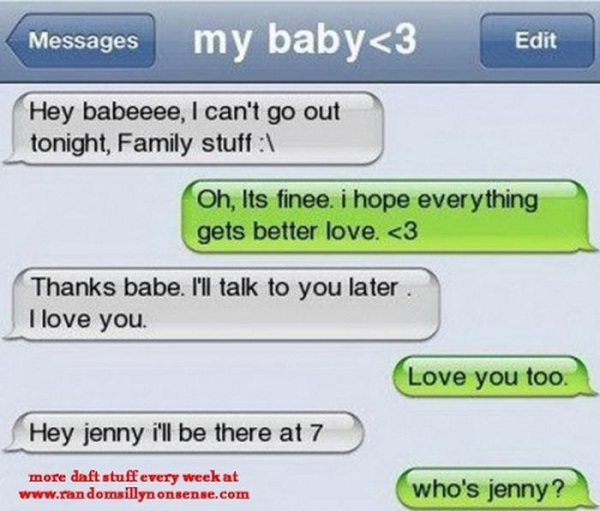 Jenny?-Funny Ways To Respond To A Wrong Number Text