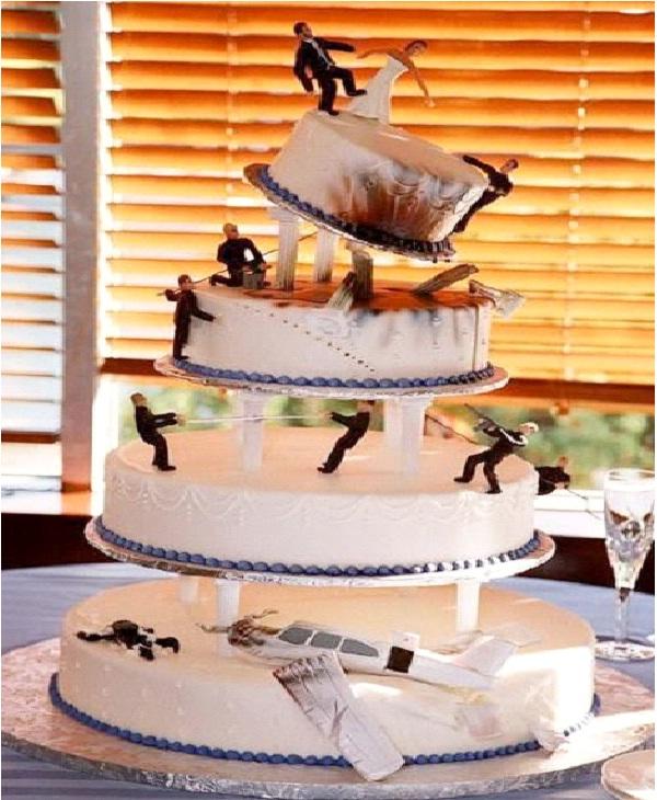 Attack Amazing Zombie Wedding Cakes