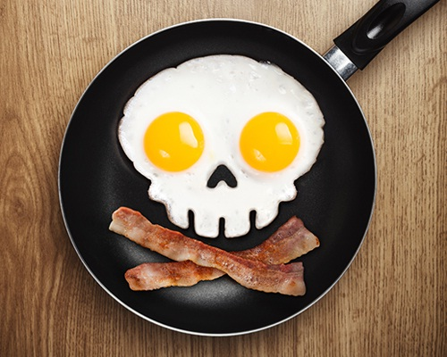 Skull eggs-Inventions That Make Breakfast Fun