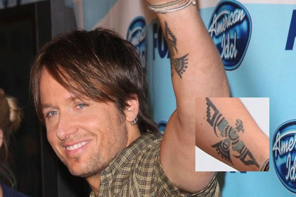 Keith Urban-Best Celebrity Tattoos
