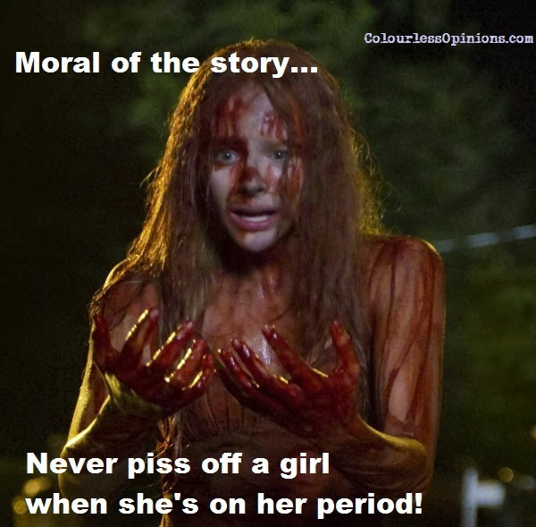 Wise Advice-Funny 'Meanwhile On Periods' Memes