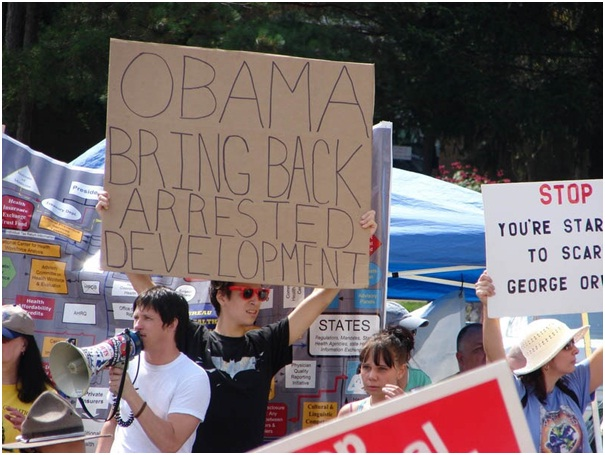 Obama - Yes You Can-Clever Protest Signs