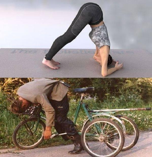 Angles-Yoga Vs. Drunk Poses