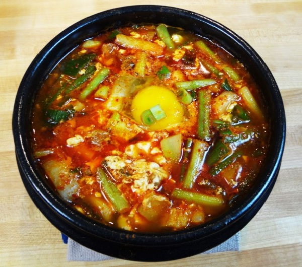 Soft tofu stew-Korean Foods You Should Try