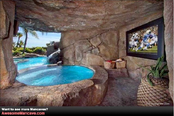 Tropical Cave-Awesome Man Caves