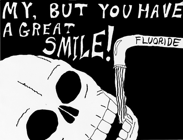 Fluoride in the water-Coolest Conspiracy Theories