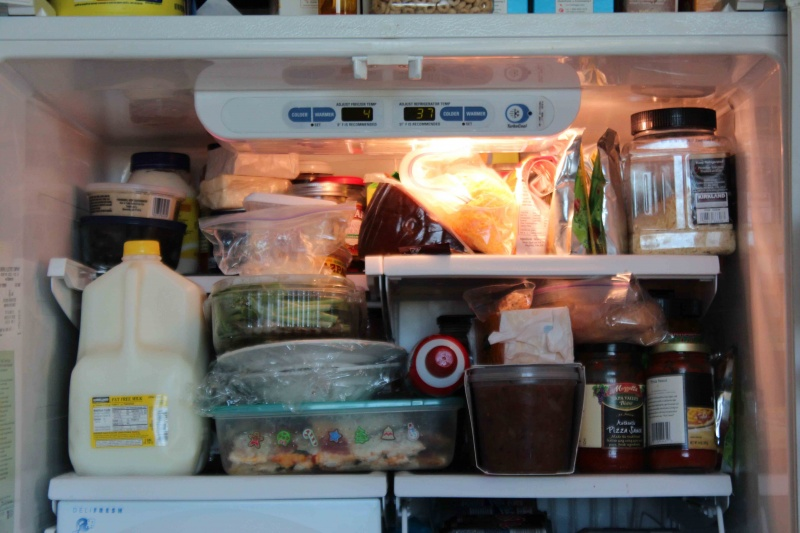 Refrigerator-15 Things You Use Daily That Are Actually Dirtier Than Your Toilet Seat