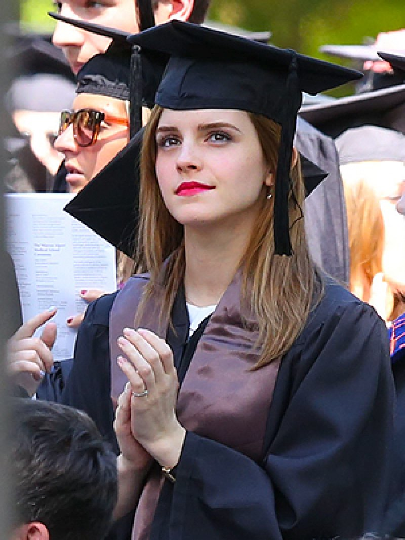 She Graduated in English Literature from Brown University-15 Reasons Why Emma Watson Is The Perfect Beauty With Brain Girl