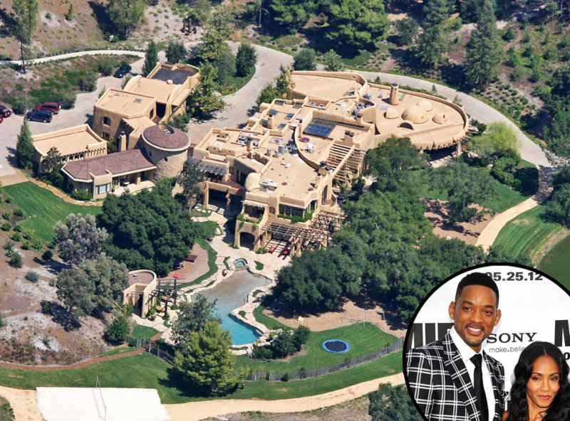 Will Smith-15 Amazing Celebrity Houses That Are Worth Millions