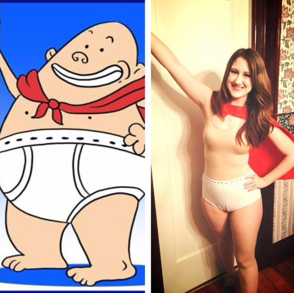 Captain Underpants Halloween Costume-Simple Halloween Costumes You Can Make Within A Day