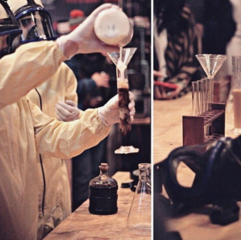 Yeah, Coffee Scientists!-Breaking Bad Coffee Shop Is The Best Coffee Shop You Will Ever See