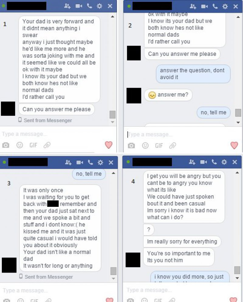 Things Just Got Serious-Guy Found Nudes Of His GF On His Dad's Phone And Then A Deep Secret Revealed