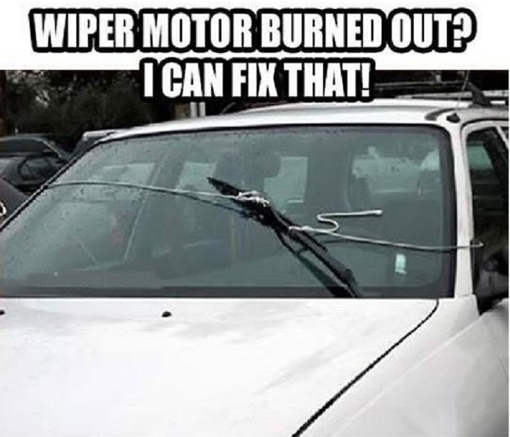When Windshield Wiper Motor Failed-15 Times Engineers Showed How To Fix Things Easily
