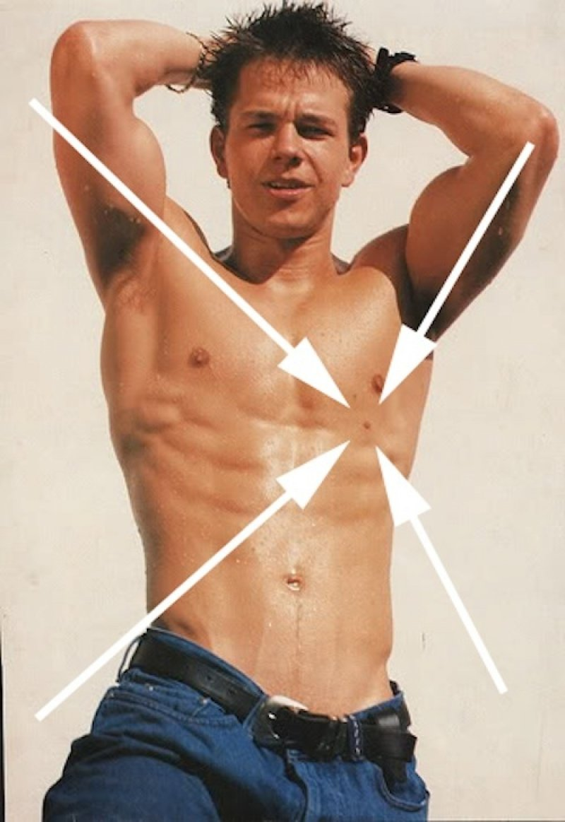Mark Wahlberg-15 Celebrities With Strange Physical Flaws You Probably Don't Know About