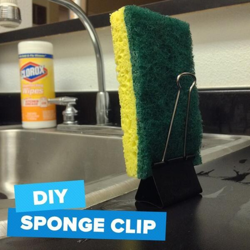 Microwave Your Kitchen Sponge-15 Home Cleaning Hacks That Make Cleaning Easy