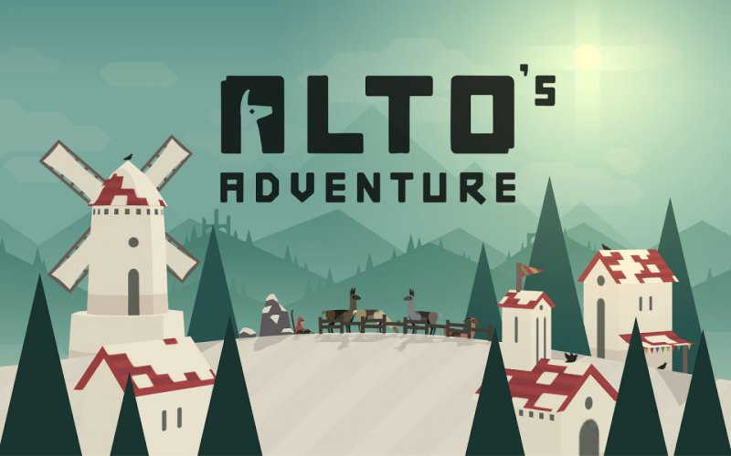 Alto's Adventure-12 Best Physics-Based Games For IOS And Android