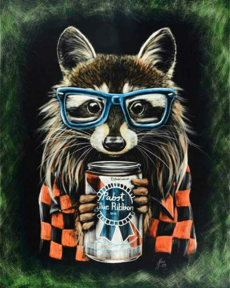 An Impressive Hipster Animal Portrait-12 Amazing Hipster Art Pictures You Must See If You're A Hippy