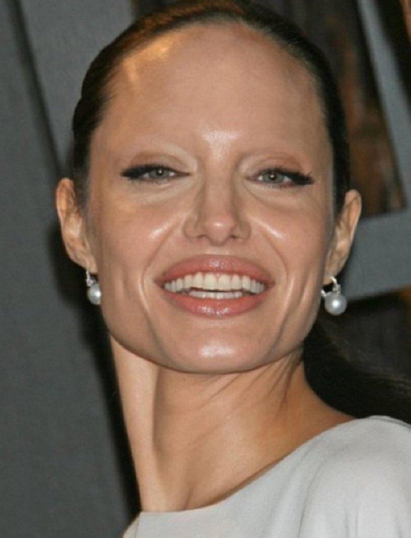 Джоли анжелина фото без макияжа