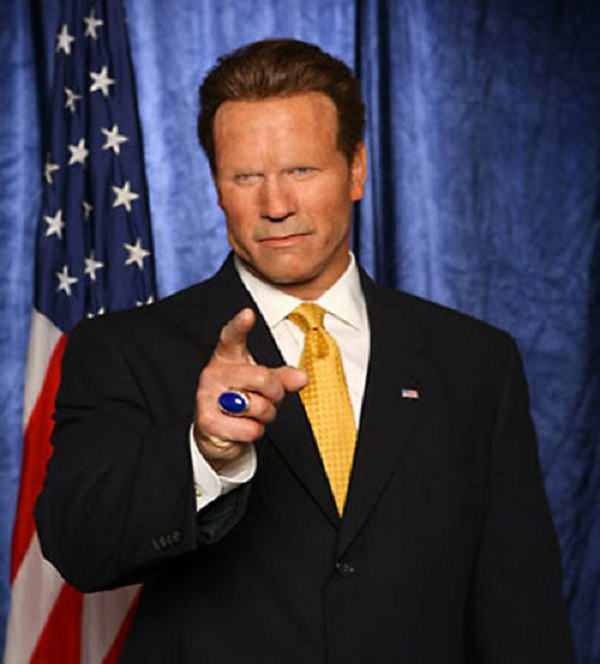 Arnold Schwarzenegger-15 Celebrities Without Eyebrows You Never Seen Before