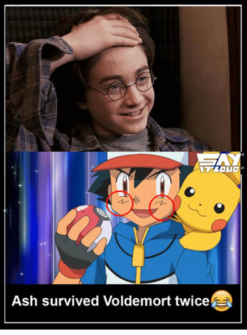 Ash Survived Lord Voldemort Twice!-12 Hilarious Pokémon Memes That Will Make Your Day
