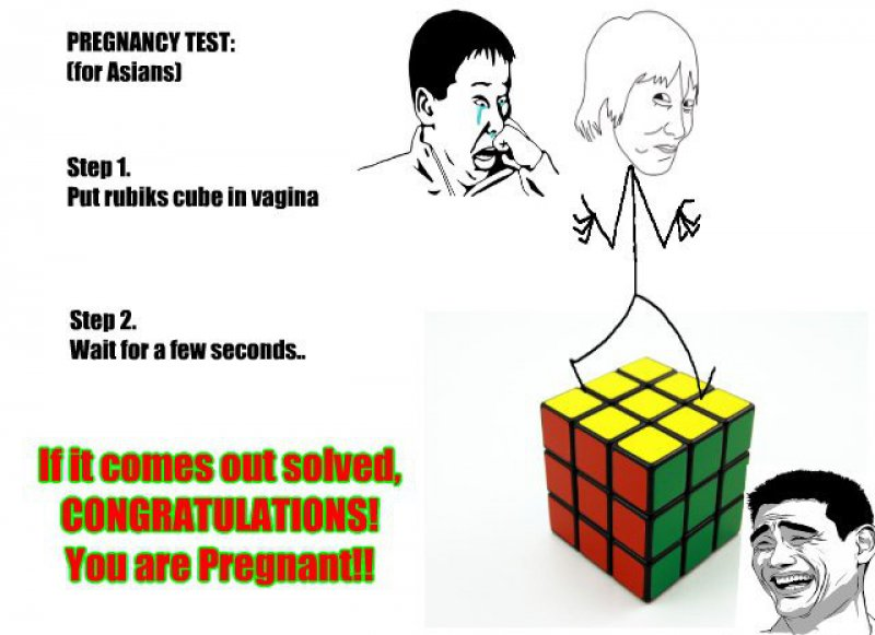 Asian Pregnancy Test!-12 Hilarious Pregnancy Memes That Will Make Your Day
