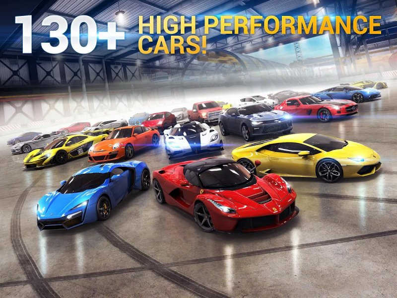 Asphalt 8: Airborne-12 Best Car Racing Games For Mobile