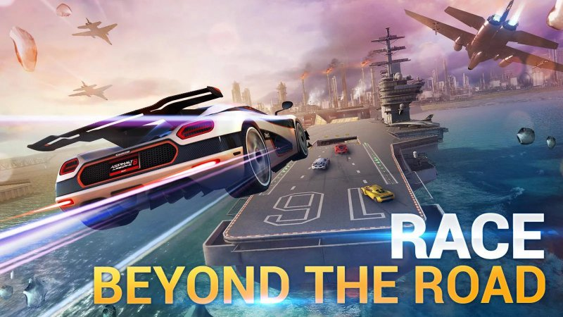 Asphalt 8: Airborne-12 Best Physics-Based Games For IOS And Android