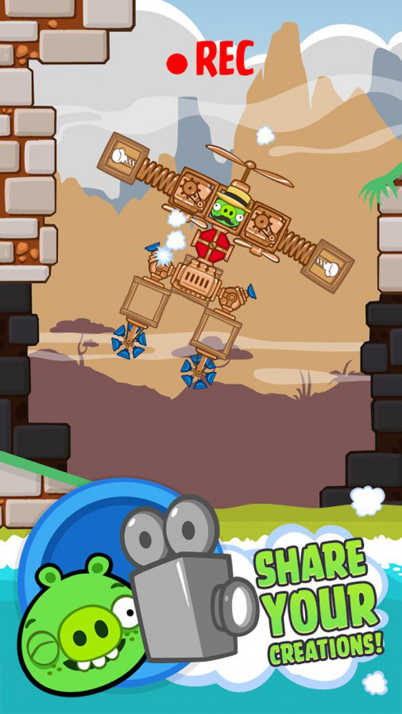 Bad Piggies-12 Best Physics-Based Games For IOS And Android