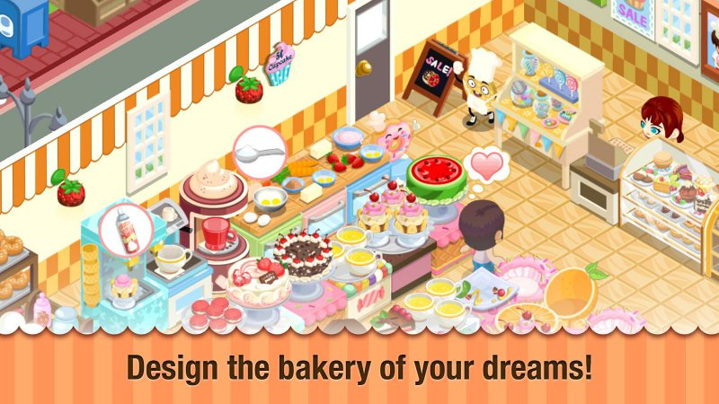 Bakery Story-12 Best Restaurant Games For IOS And Android