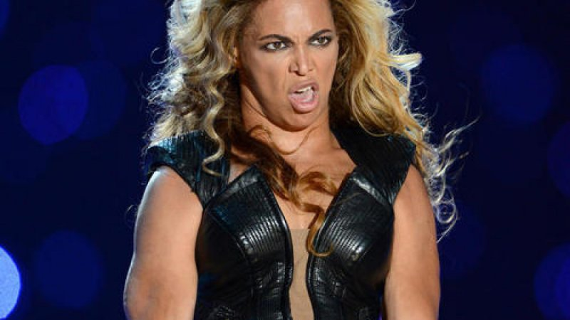 Beyonce Funny Face-15 Stupidest Faces Our Favorite Celebrities Make