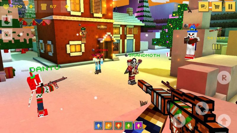 Block Force: Cops And Robbers-12 Best Pixel Games For Android And IOS
