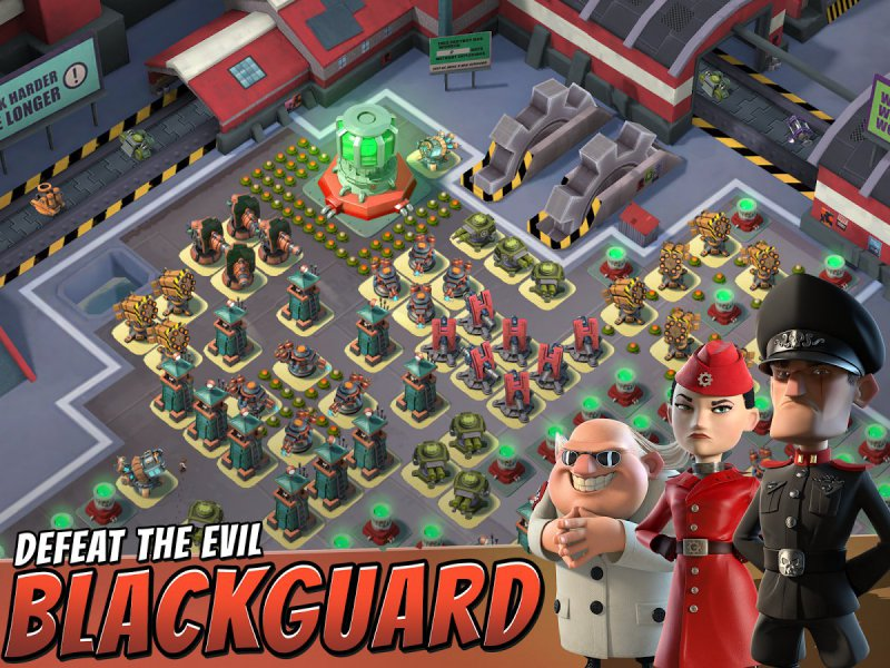 Boom Beach-12 Best War Strategy Games For IOS And Android