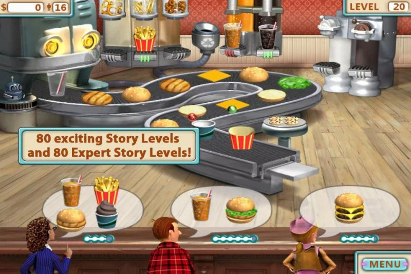 Burger Shop-12 Best Restaurant Games For IOS And Android