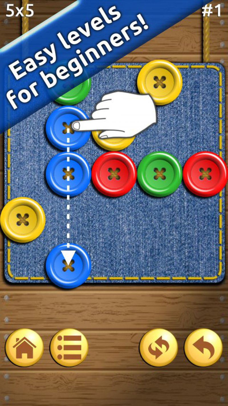 Buttons And Scissors-12 Best Puzzle Games For Android And IOS