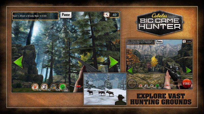 Cabela's Big Game Hunter-15 Top Hunting Games For Mobile