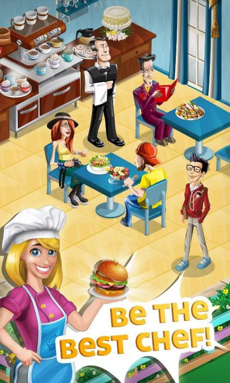 Chef Town: Cooking Simulation-12 Best Restaurant Games For IOS And Android