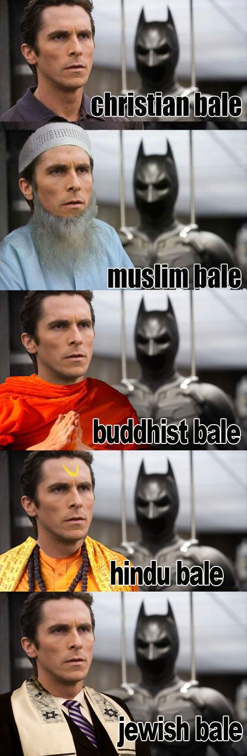 Christian Bale-15 Celebrity Name Puns That Are Hilarious