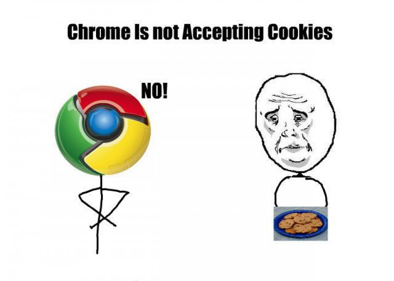 Chrome Isn't Accepting Cookies!-12 Funny Okay Memes That Will Make You Feel Okay About Your Life