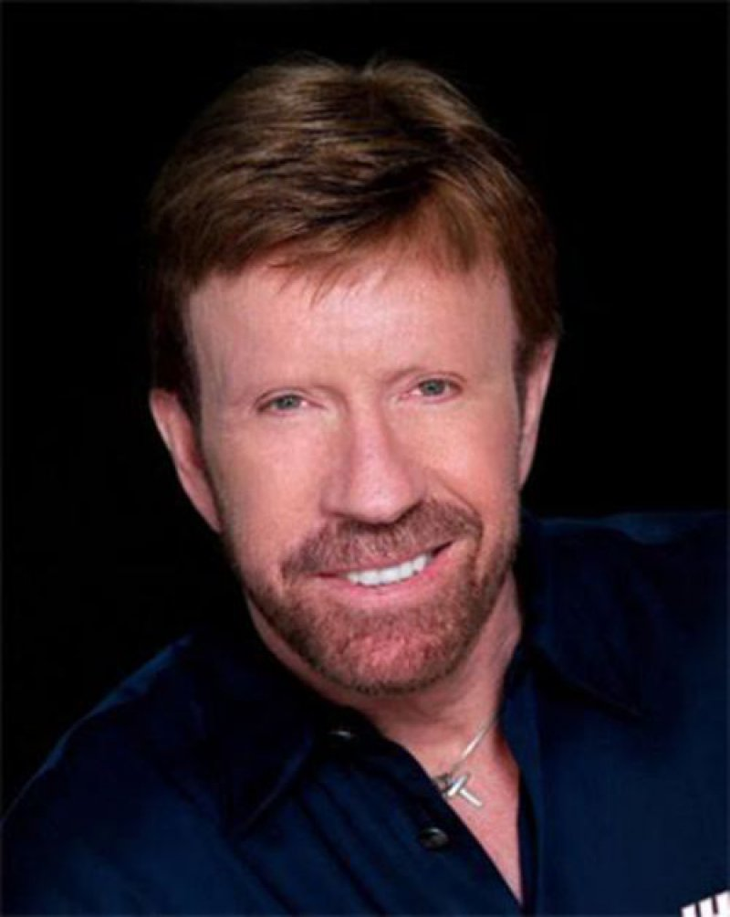 Chuck Norris-15 Celebrities Without Eyebrows You Never Seen Before