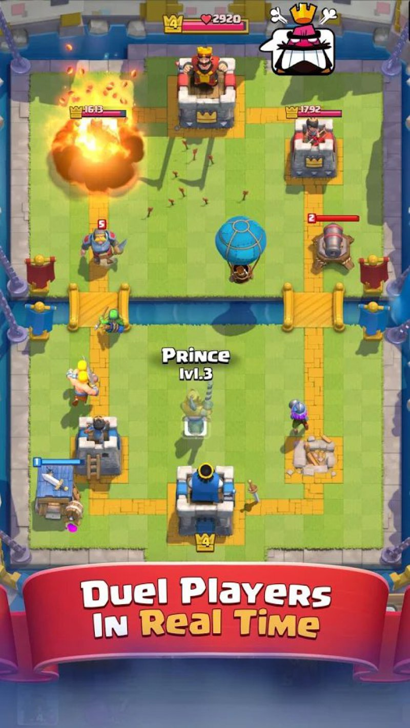 Clash Royale-12 Best War Strategy Games For IOS And Android