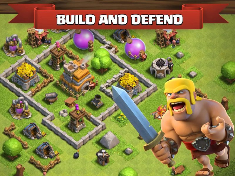 Clash Of Clans-12 Best War Strategy Games For IOS And Android