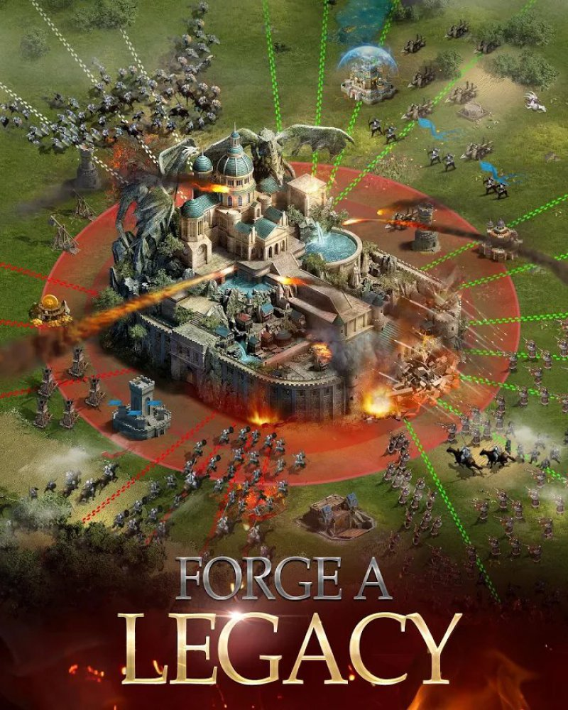 Clash Of Kings-12 Best War Strategy Games For IOS And Android