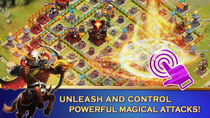 Clash Of Lords 2-12 Best War Strategy Games For IOS And Android
