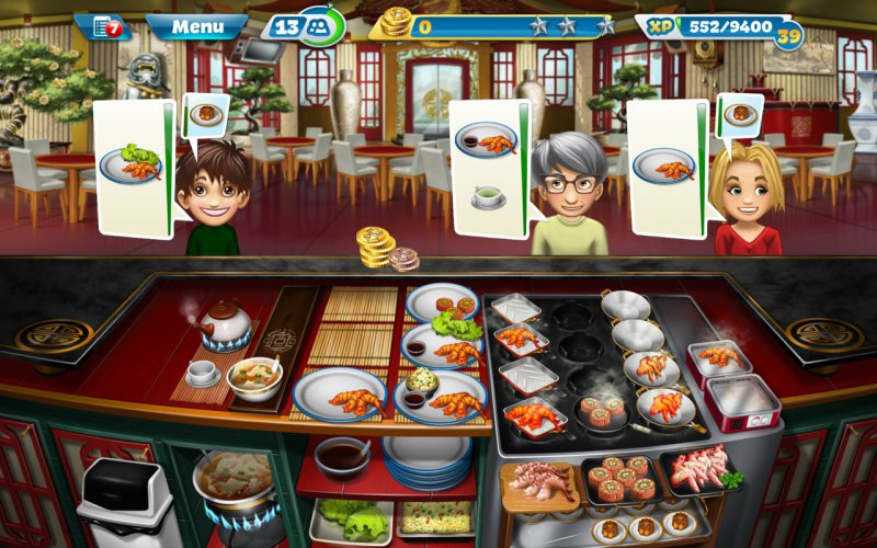 Cooking Fever-12 Best Restaurant Games For IOS And Android