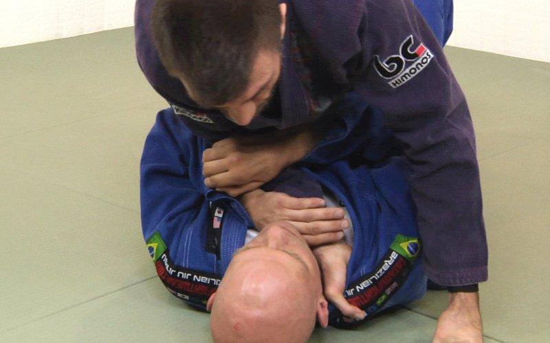 Cross Collar Choke-12 Essential Brazilian Jiu Jitsu Techniques You Can Master At Home