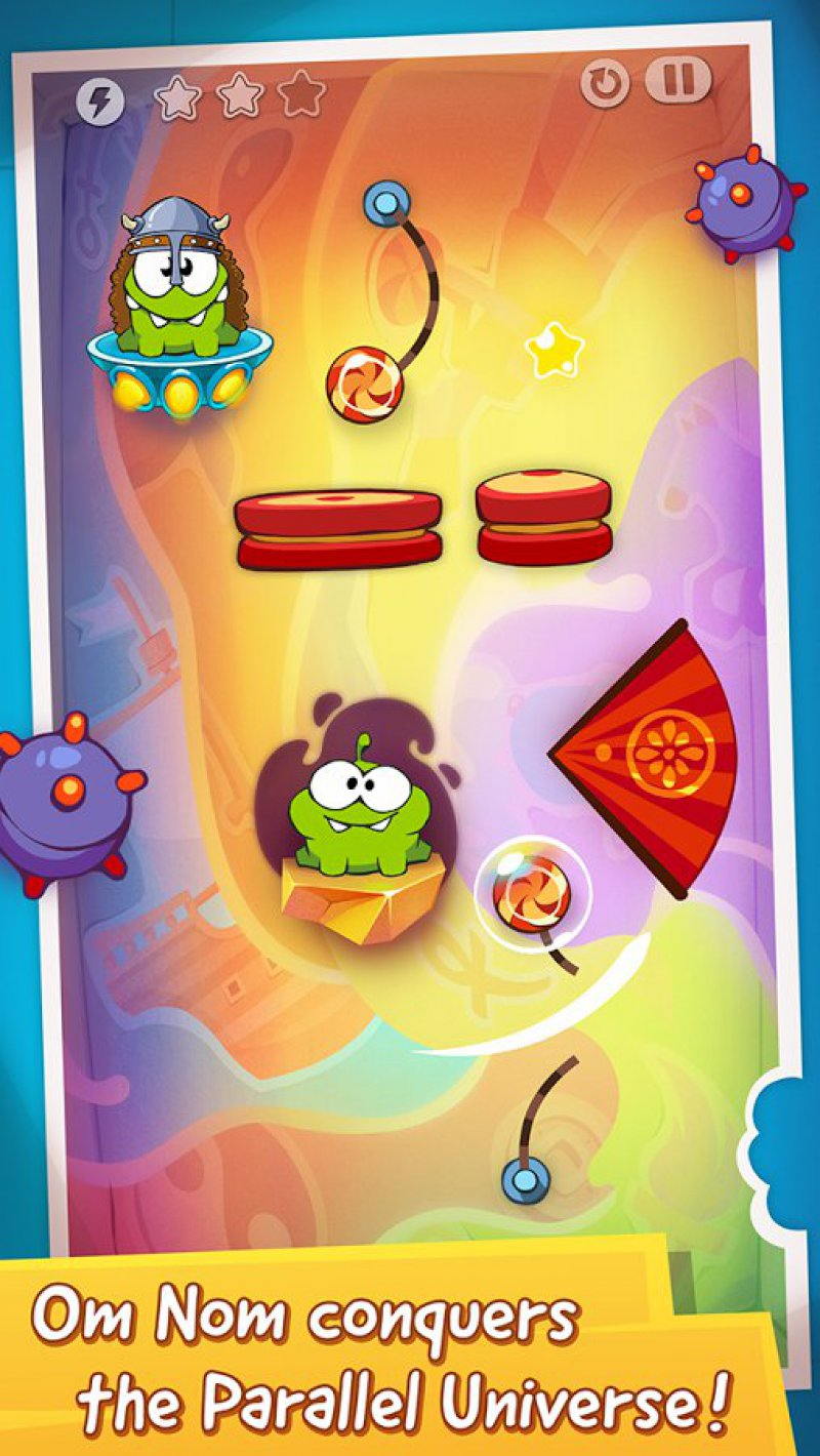 Cut The Rope: Time Travel-12 Best Puzzle Games For Android And IOS